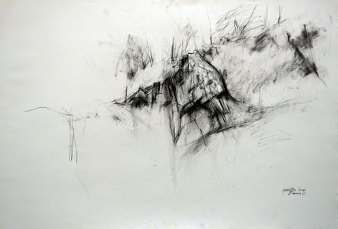 Tragoni I Steinbruch 2010, 100x70 cm