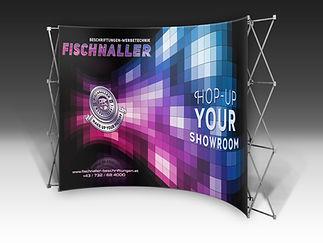 Beschriftungen,Fischnaller,Linz,Werbetechnik,Messeservice,Schilder,Fahnen,Roll UPs,Displays,Autowerbung,Digitaldruck