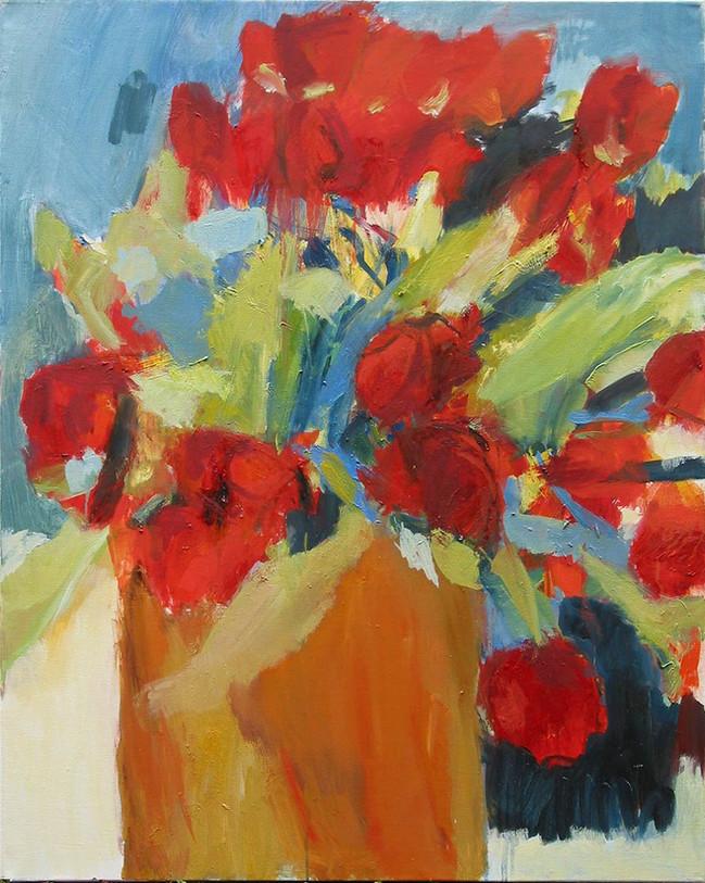 Tulpen 2014, 80x100 cm