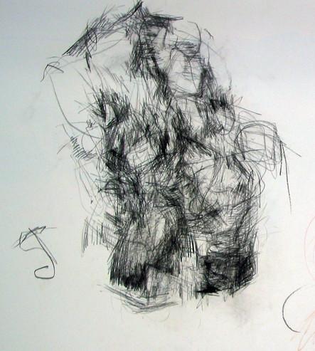 2006 Torso, 70x100 cm Kreide