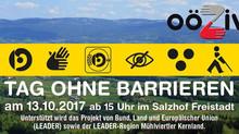 TAG OHNE BARRIEREN am 13.10.2017