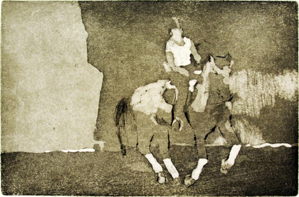 Pferd Dani 2017, 21x30 cm