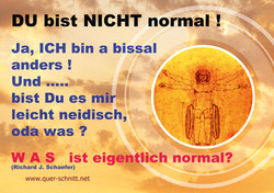 123. Du bist NICHT Normal