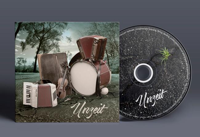 """Die Neue """"UNZEIT""""-CD am14. 4. 2018 ab 20:00 im Salzhof in Freistadt"""