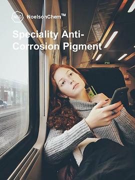 Speciality Anti-Corrosion Pigment