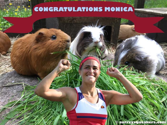 Congratulations Monica!