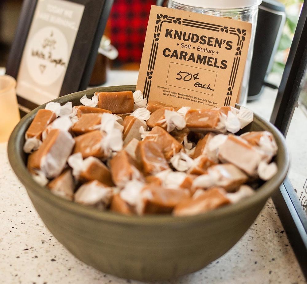 Knudsens Caramels