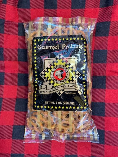 American Gourmet Honey Mustard Mini Twist Pretzels