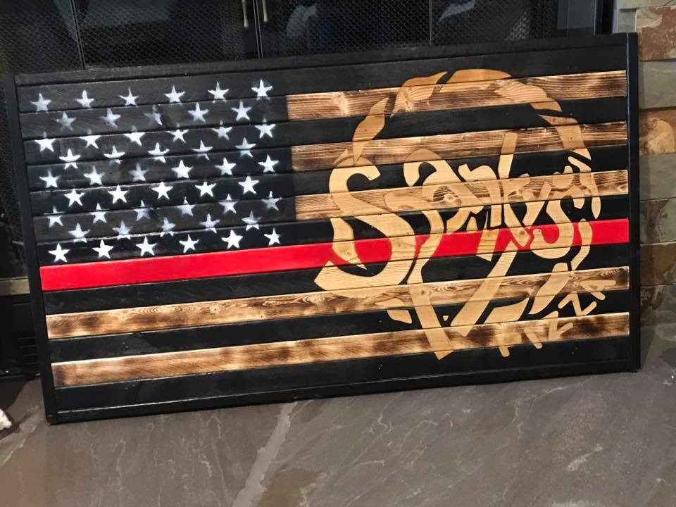Spanky's Flag from the Fremont FD!