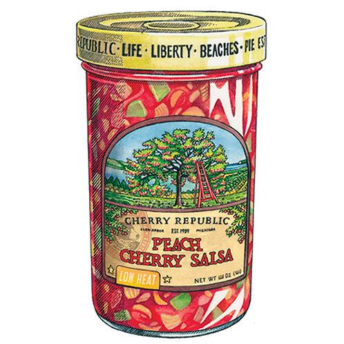 Cherry Republic Peach Salsa