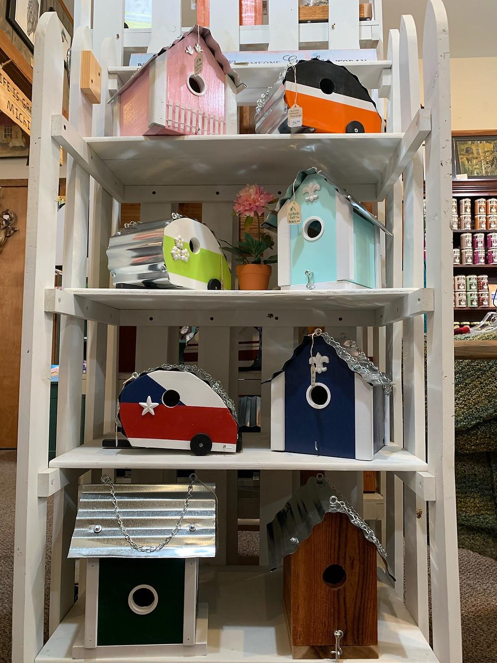 Handmade Birdhouses