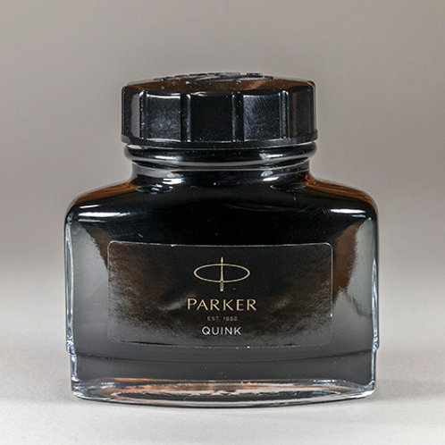 Parker Black Fountain Pen Ink