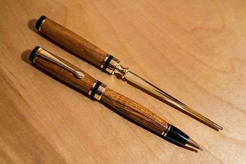 American Pen and Opener Set - Jatoba