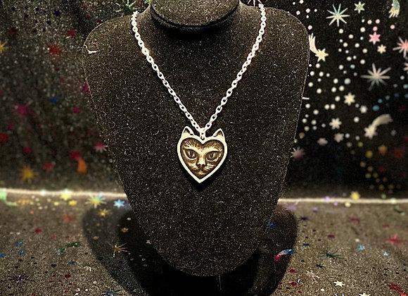 Alchemy Love Cat Necklace