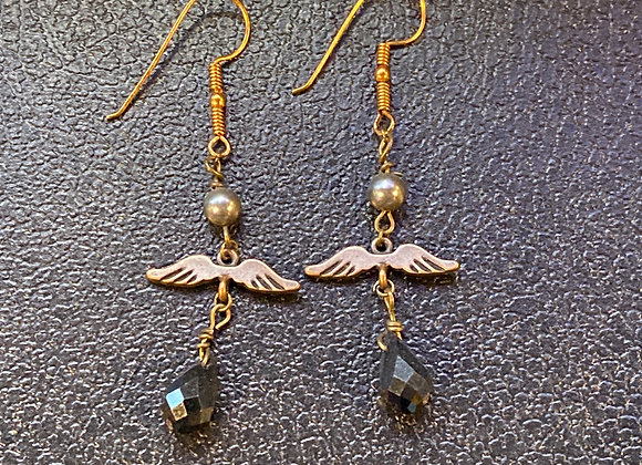 Wings & Gems Earings