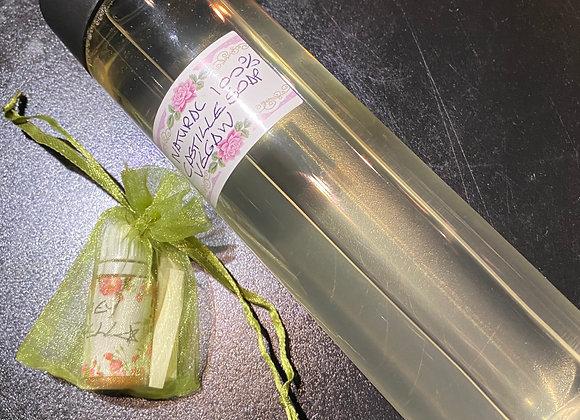 Natural Castile soap + Money spell