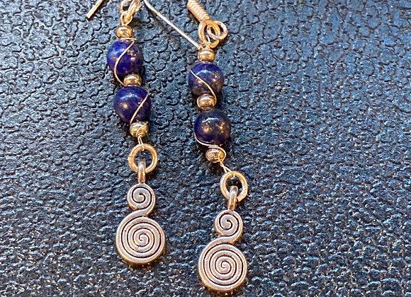 Lapis's Luzuli Earings