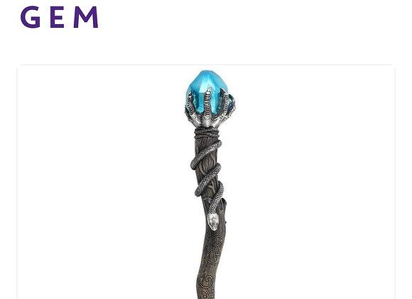 Silver claw wand