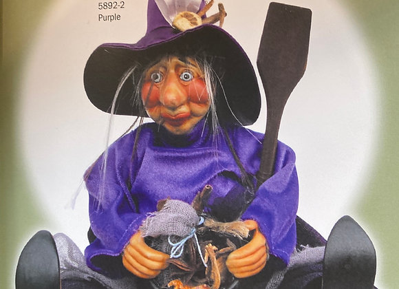Ethel sitting witch