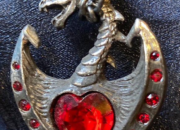 Alchemy red dragon heart