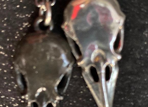 Alchemy Coeur Crane Couples friendship  necklace