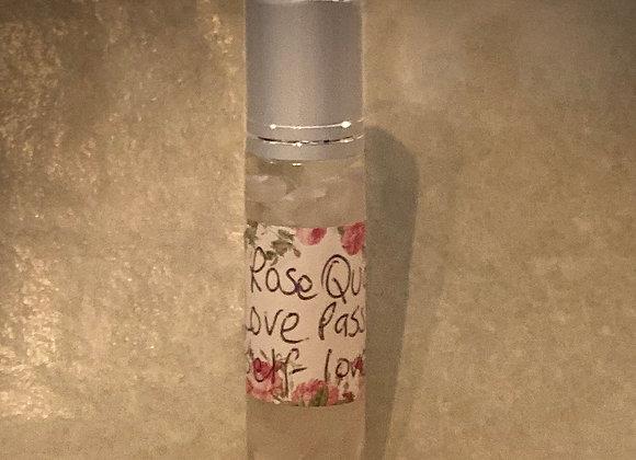 Rose quartz magickal crystal rollerball oil