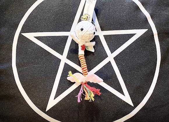 Voodoo Doll Keyring - Fish Tail