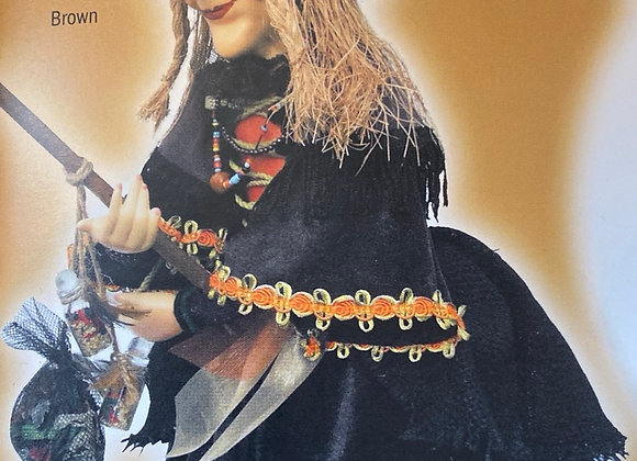 Alice Nutter witch flying black 24cm