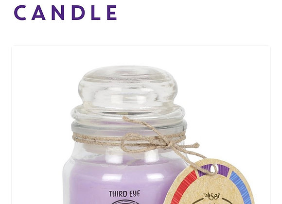 Chakra Candle Third Eye Scented