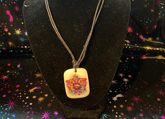 Skull & Heart Necklace