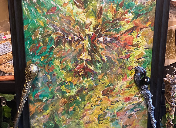 The Green Man - Painted by Toni Hunt