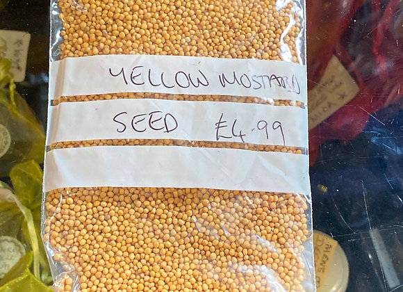 Yellow Mustard Seeds (45g)
