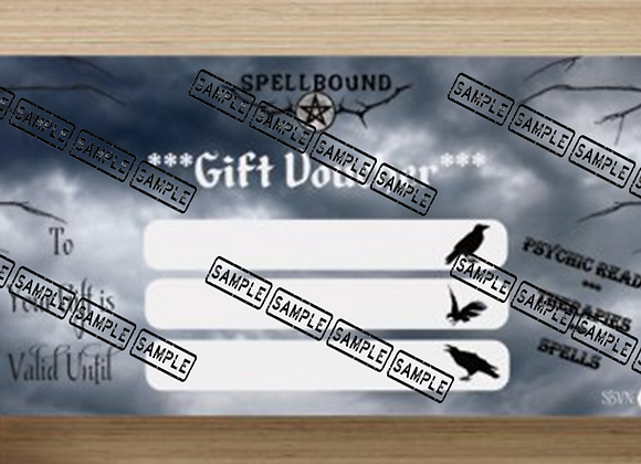 Psychic Reading - Gift Voucher