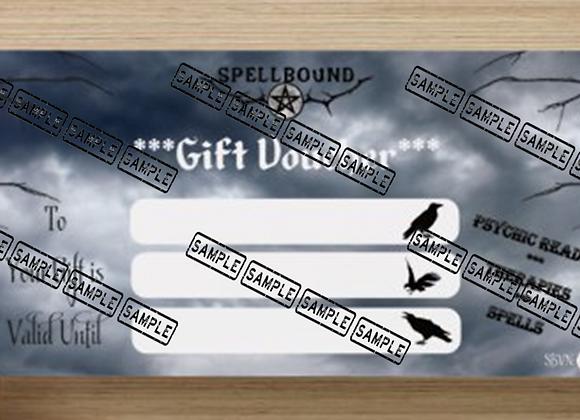Spellbound Shop - Gift Voucher