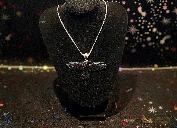 Alchemy Raven Necklace