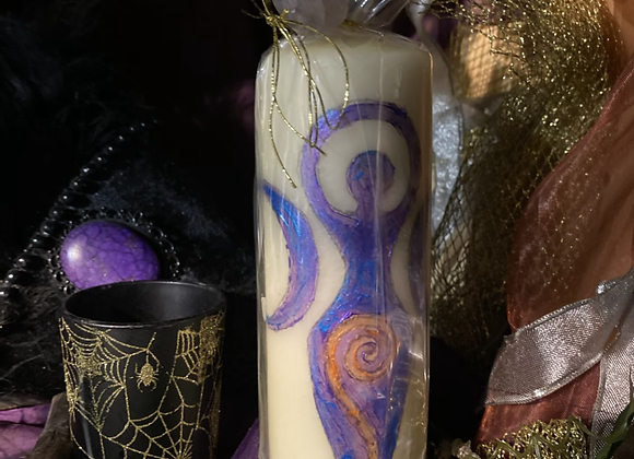 Goddess Spell Candle 🕯 (Purple)