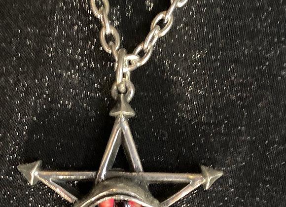 Alchemy Red curse pentagram eye