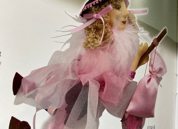 Jazz flying pink witch 32cm