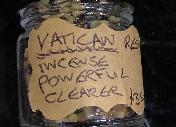 Vatican resin incense 43ml