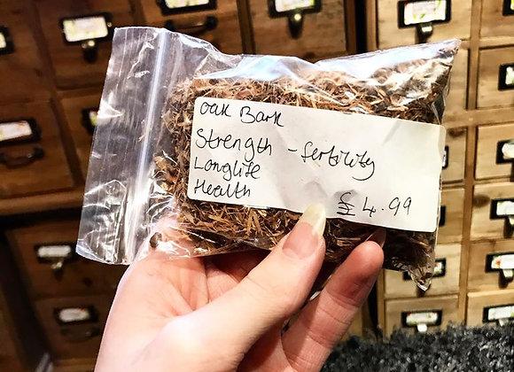 Oak Bark approx 0.020kg