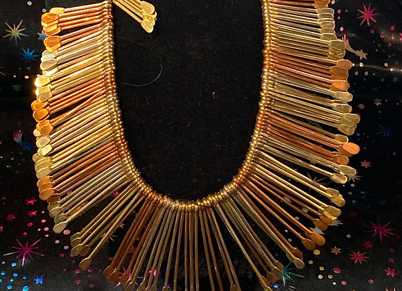 Egyptian Style Gold Silver &  Bronze