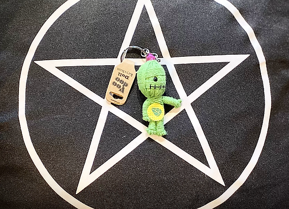 Voodoo Doll Keyring - Eco Warrior