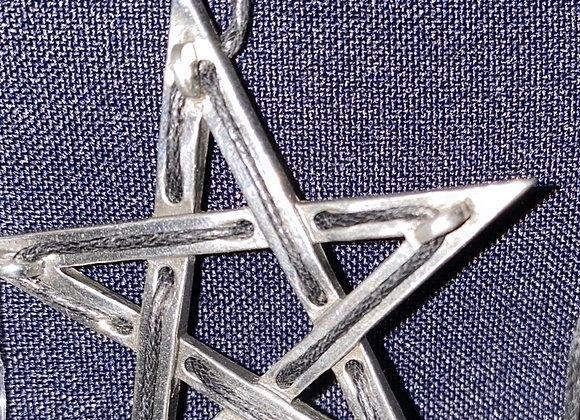 Pentagram Tethered Hex pendant