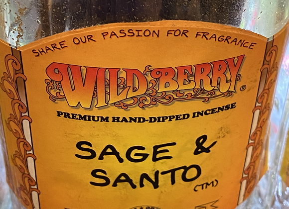 Sage & Santo Incense Sticks