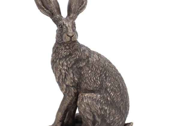 Hare Figurine Sit Tight Ornament