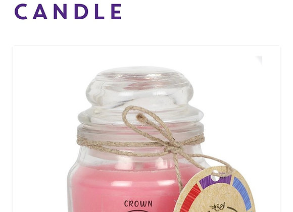 Chakra Candle Crown Scented