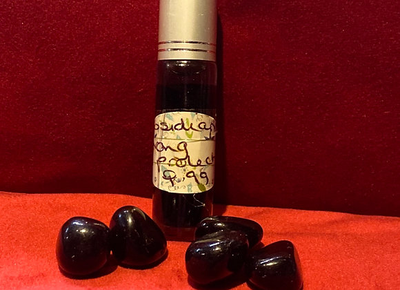 Obsidian magickal rollerball oil
