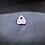 Thumbnail: Resin Planchette - Small Violet Sprarkle