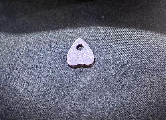 Resin Planchette - Small Violet Sprarkle