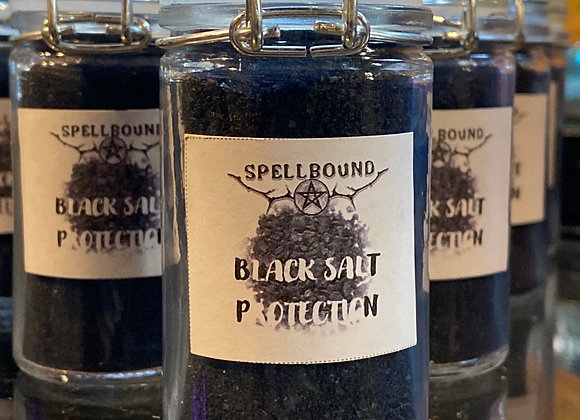 Black Salt - Protection (Small Jar)